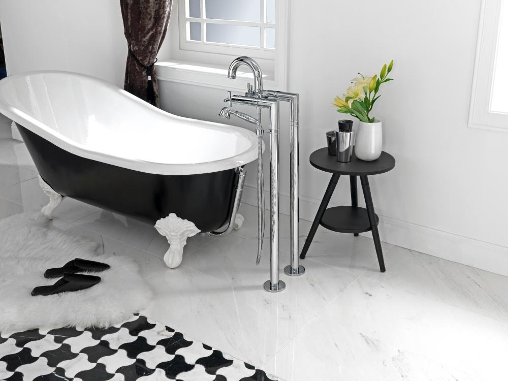 Future rubinetto per vasca da terra by noken design - Rubinetto vasca da bagno prezzi ...