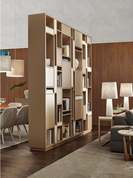 Rome bookcase by vanguard concept for Open concept bookcase