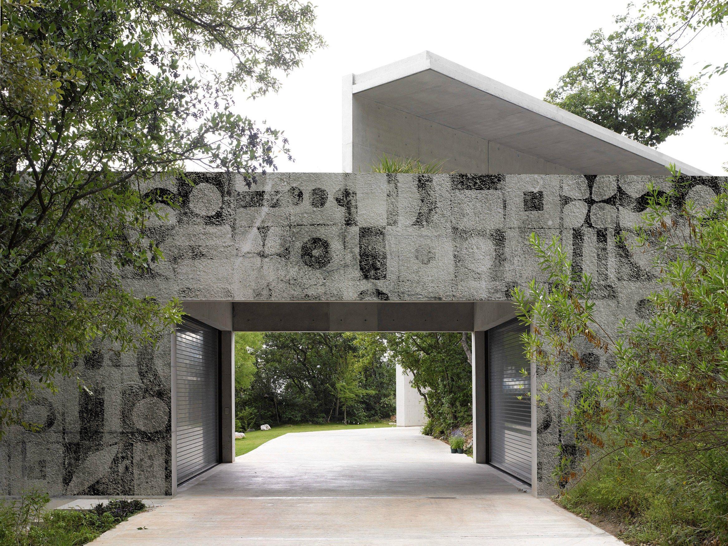 Carta da parati a motivi per esterni BARIO by Wall&decò design ...