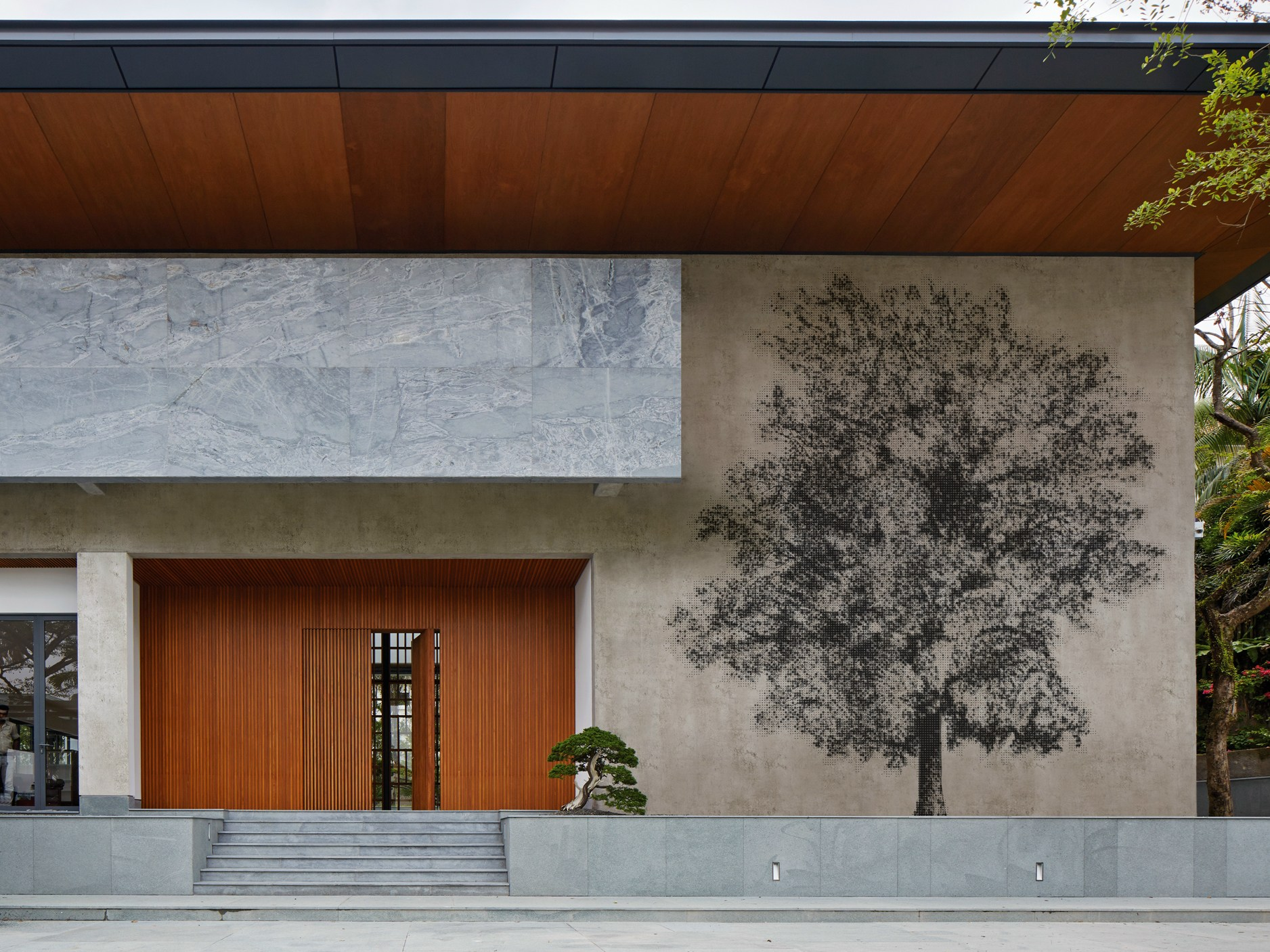 Wall And Deco Outdoor Wallpaper : Check outdoor wallpaper bon sai by wall dec? design bpm studio