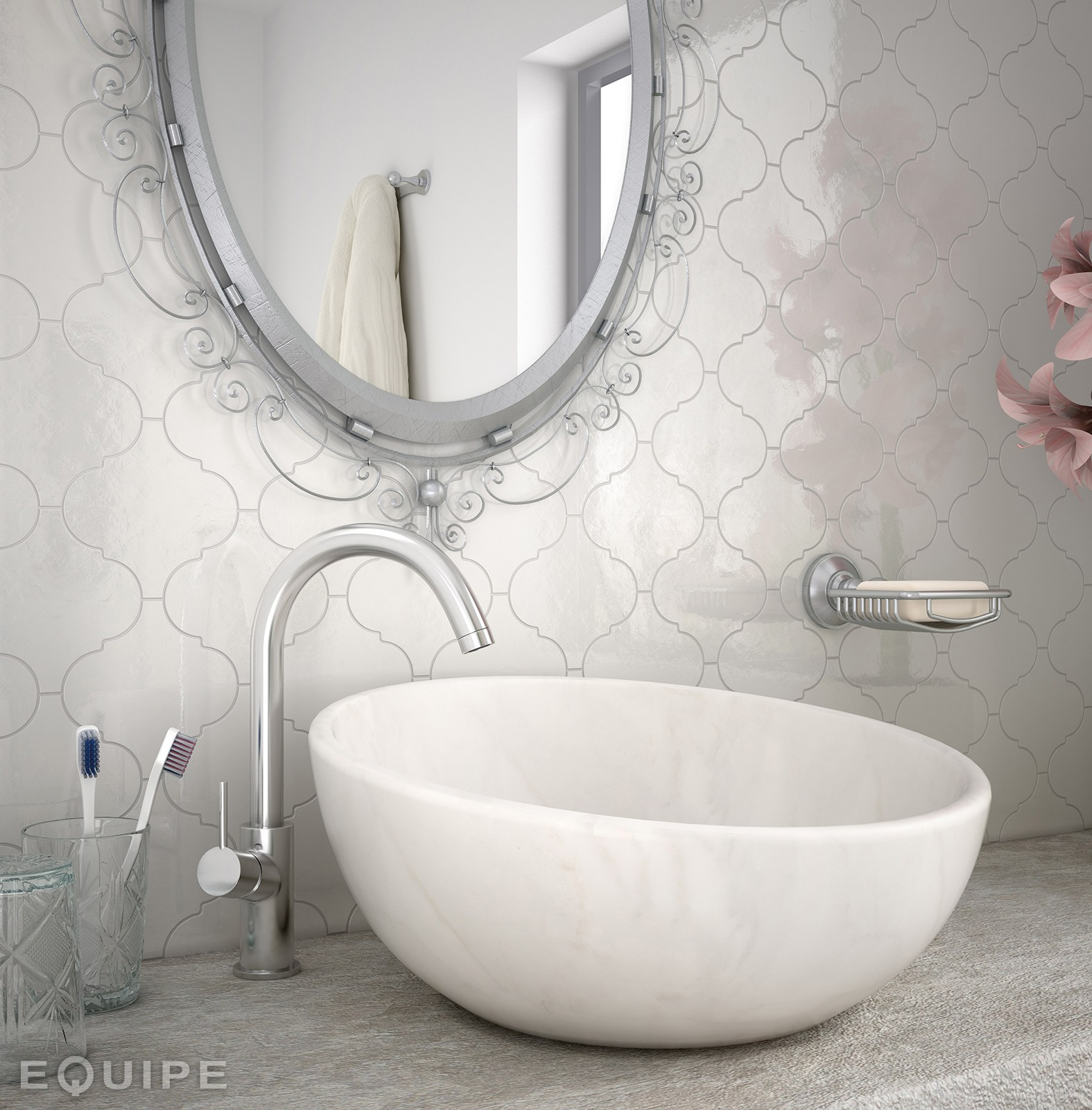 ceramic wall tiles scale by equipe ceramicas. Black Bedroom Furniture Sets. Home Design Ideas