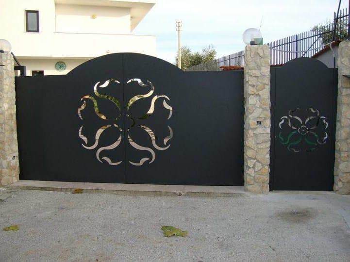 Cancello by citys recinzioni e cancelli taglio laser for Lance per cancelli in ferro