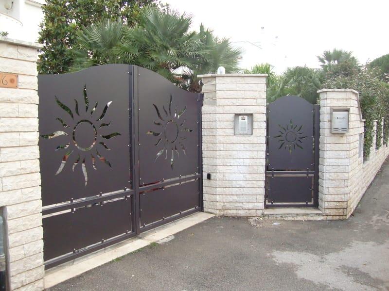 PAN.32 Cancello by CITYSì recinzioni e cancelli taglio laser