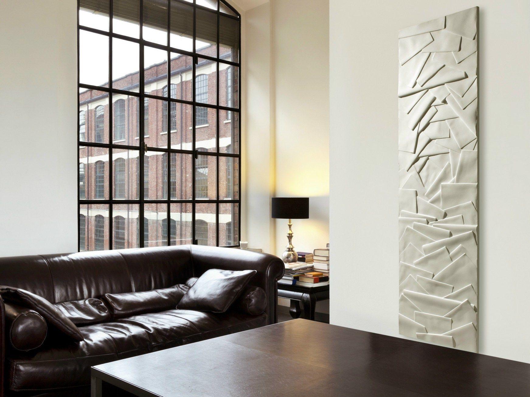 radiateur d coratif panneau vertical en olycale edo by cinier radiateurs contemporains design. Black Bedroom Furniture Sets. Home Design Ideas
