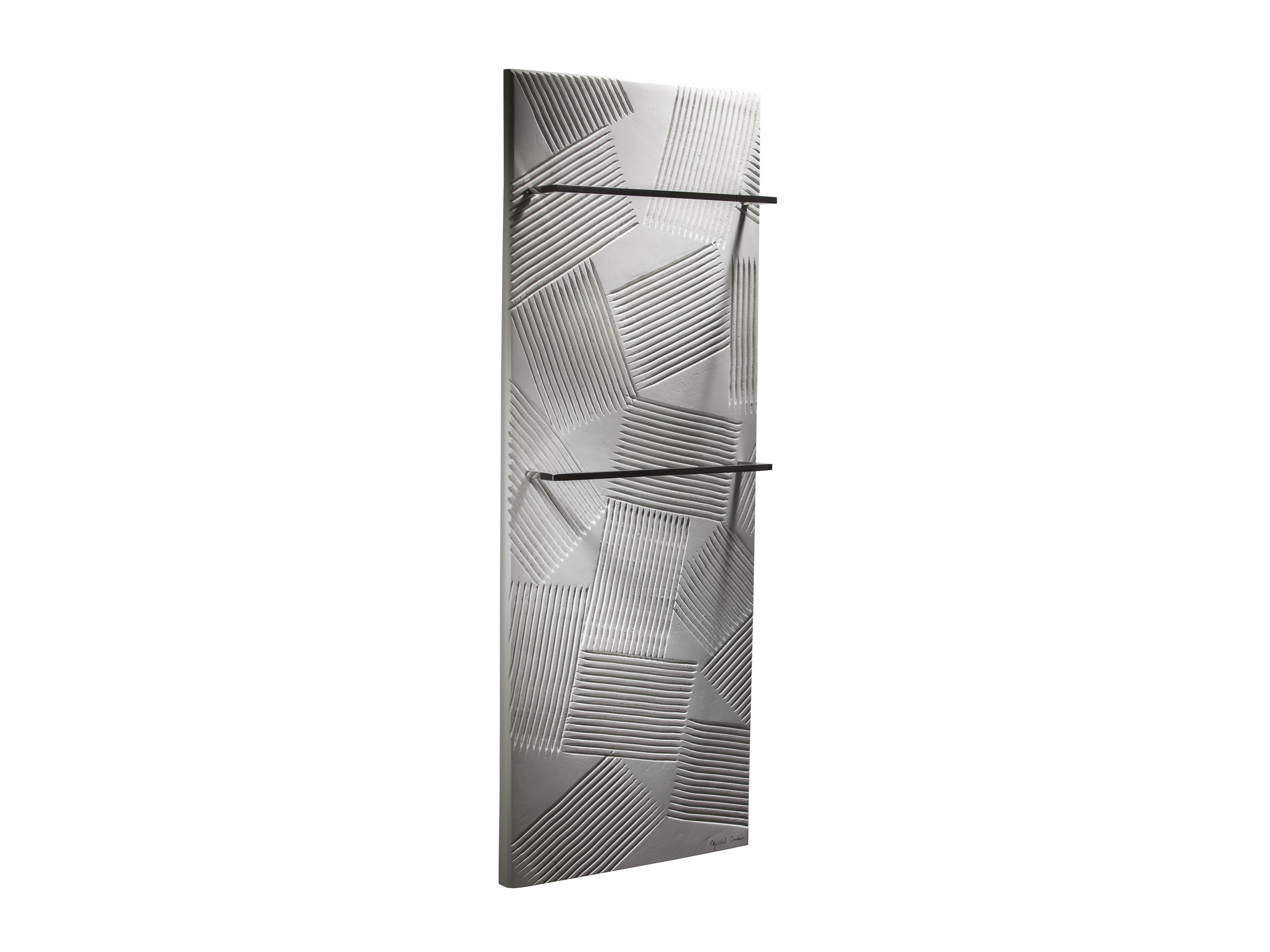 Vertical olycale towel warmer jeu d ombres bain by cinier radiateurs contemp - Radiateurs seche serviettes ...