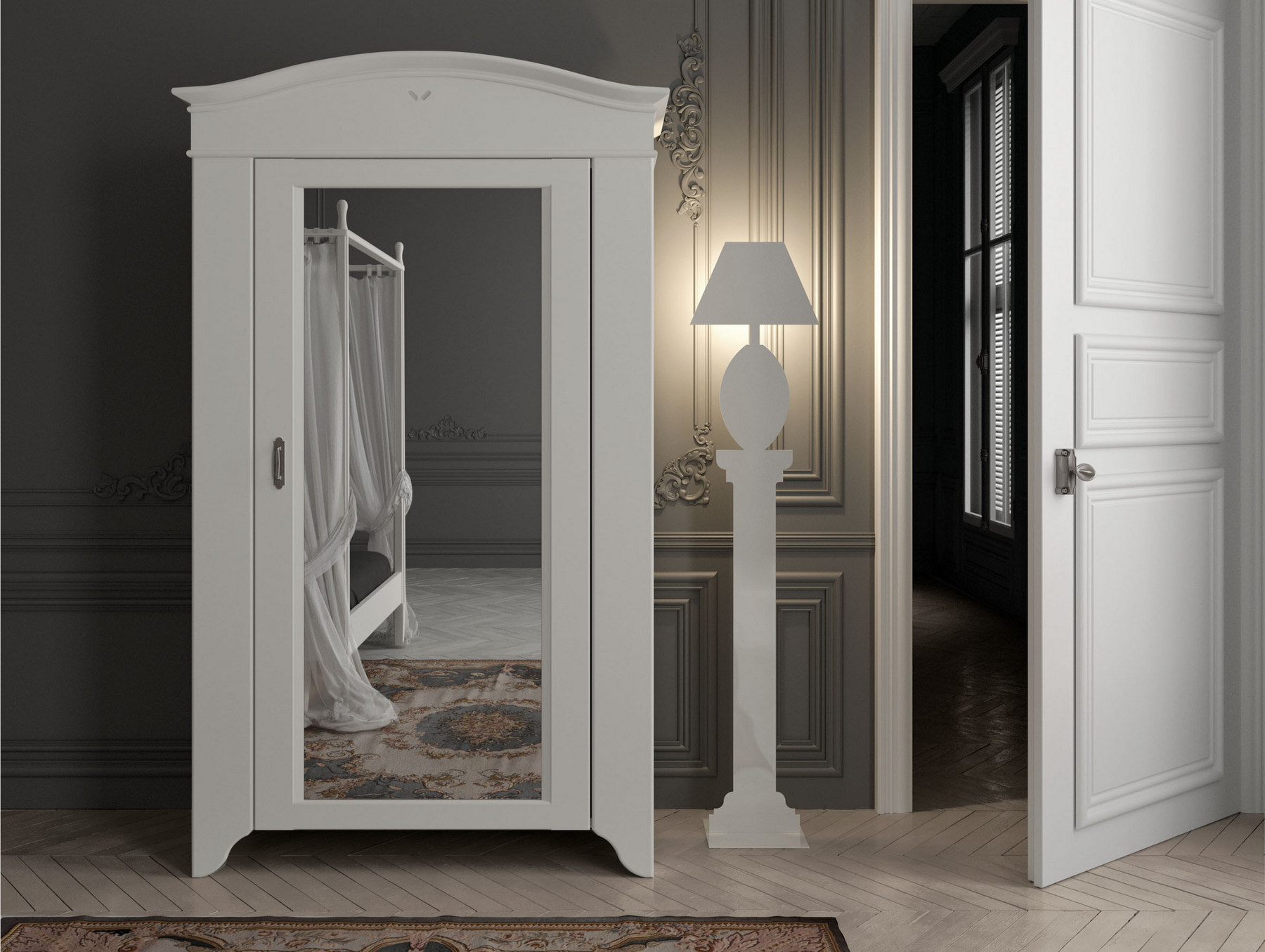 seguret armoire glace by minacciolo. Black Bedroom Furniture Sets. Home Design Ideas