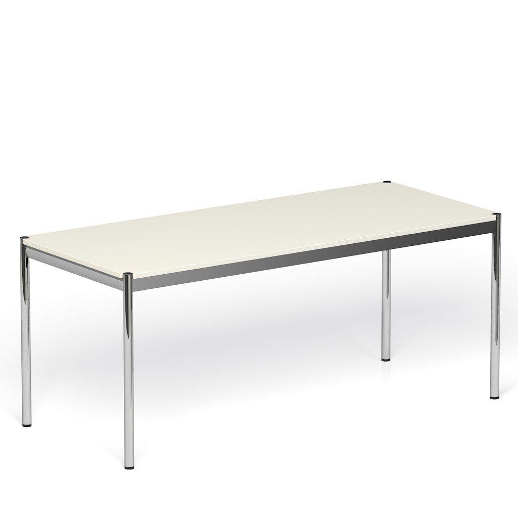 Usm haller table as reception desk banco per reception by for Table quiz hannover