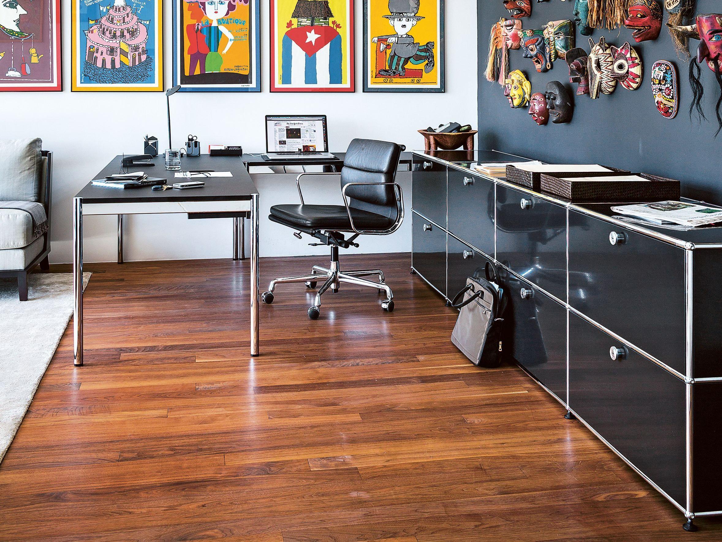 usm haller storage for home office b roregal by usm. Black Bedroom Furniture Sets. Home Design Ideas