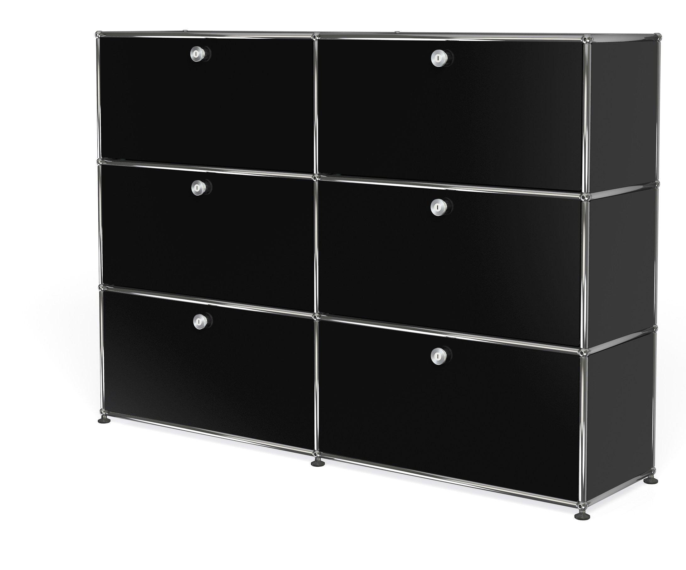 usm haller storage for home office office shelving by usm modular furniture design fritz haller. Black Bedroom Furniture Sets. Home Design Ideas