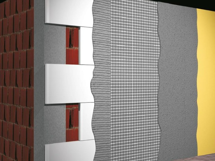 treillis et armature pour l isolation en fibre de verre external thermal insulation system by. Black Bedroom Furniture Sets. Home Design Ideas