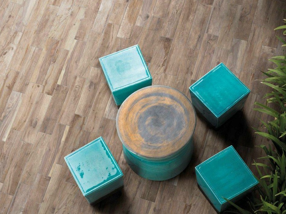 Baldosas de exterior imitaci n madera hard soft by - Ceramica imitacion madera exterior ...