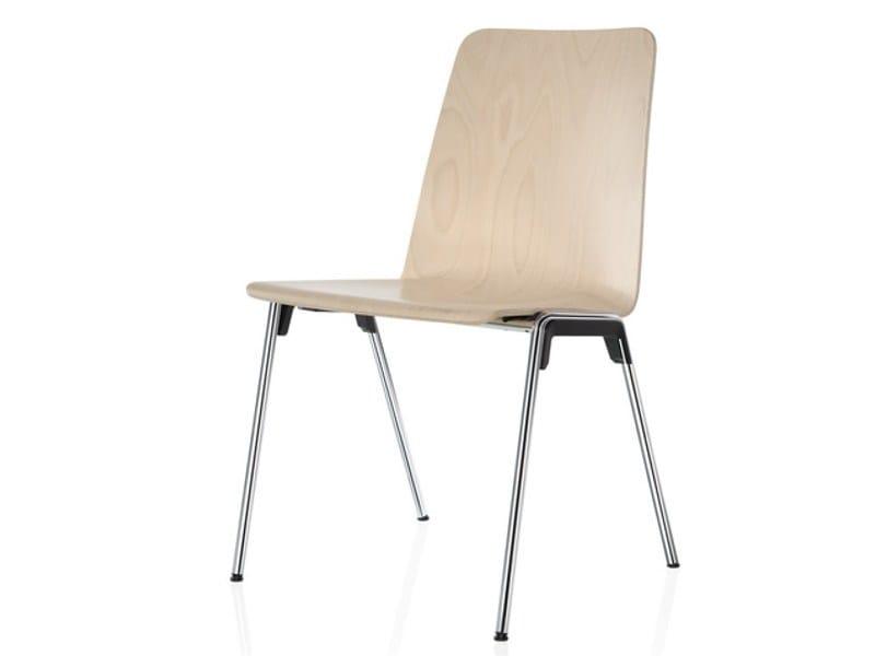 hero stapelbarer stuhl by brunner design roland schmidt. Black Bedroom Furniture Sets. Home Design Ideas