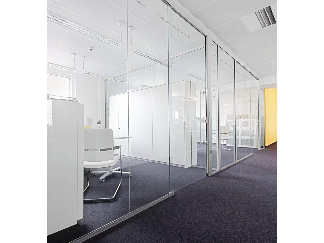 Sliding Glass Office Partition H68 By K Nig Neurath