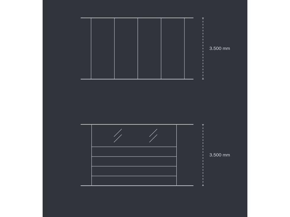 Cloison amovible acoustique de bureau en bois hrx by k nig - Cloison amovible pivotante ...