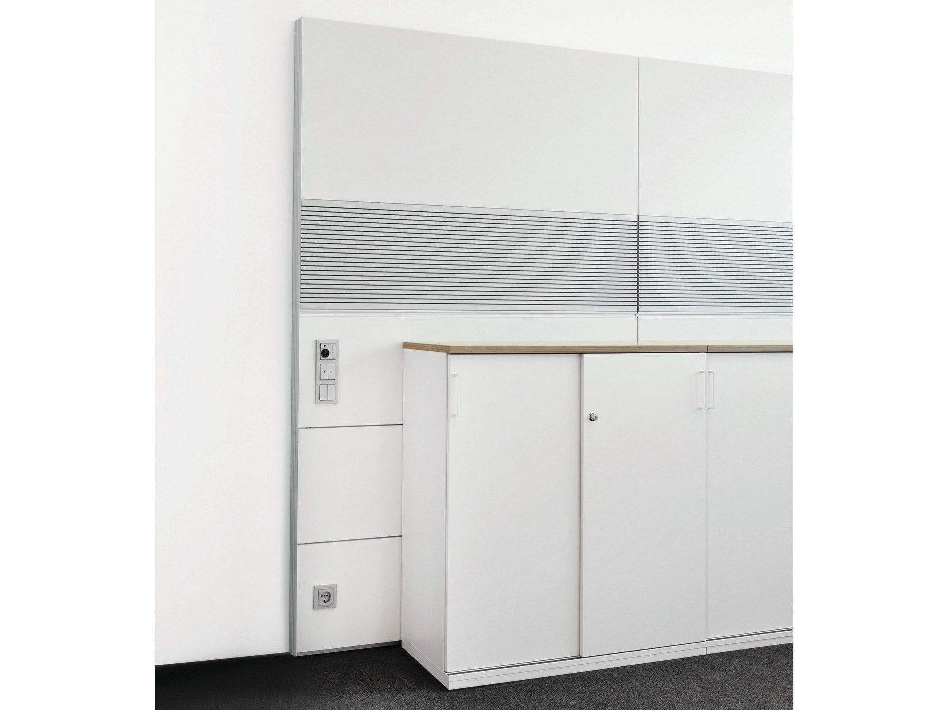 cloison amovible acoustique de bureau hrw by k nig neurath. Black Bedroom Furniture Sets. Home Design Ideas