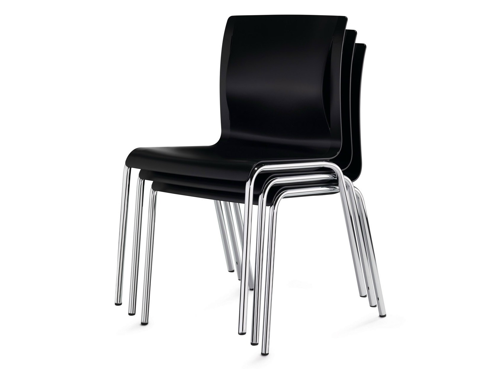 stackable reception chair juventa by k nig neurath. Black Bedroom Furniture Sets. Home Design Ideas