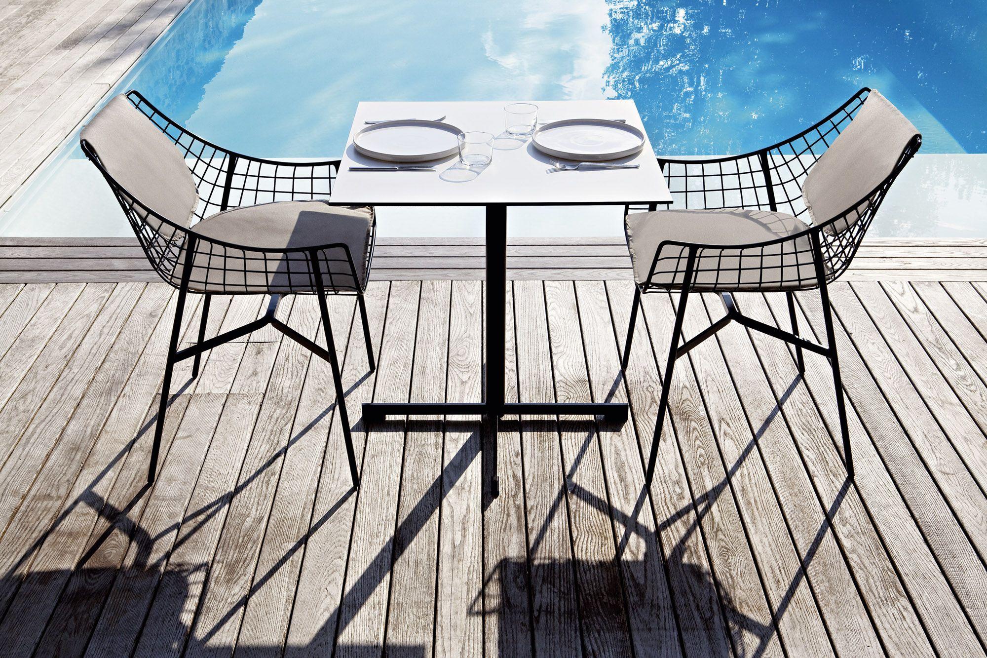 Summer set tavolo in hpl by varaschin design christophe pillet for Tavolo hpl