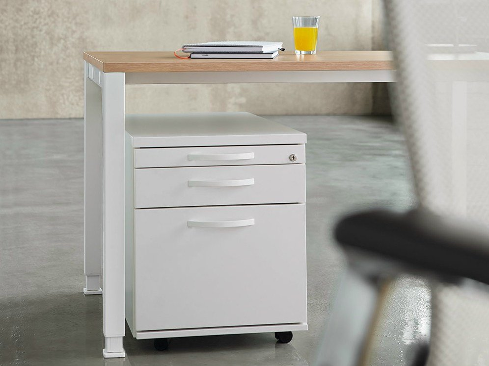 office drawer unit with casters container by k nig neurath. Black Bedroom Furniture Sets. Home Design Ideas