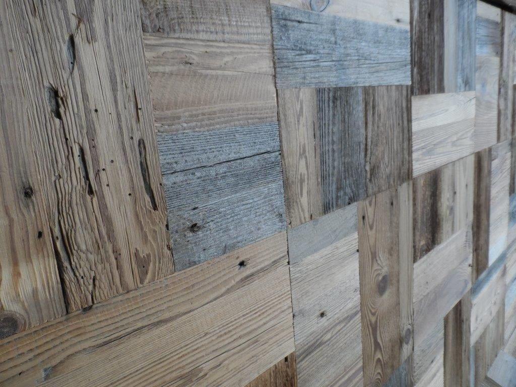 Mosaico in legno FIR MOSAIC original top layer by ANTICO TRENTINO ...