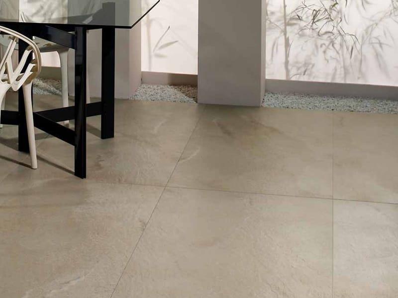 Pavimento rivestimento in gres porcellanato effetto pietra avana extreme collezione quarziti by - Piastrelle in gres porcellanato effetto pietra ...