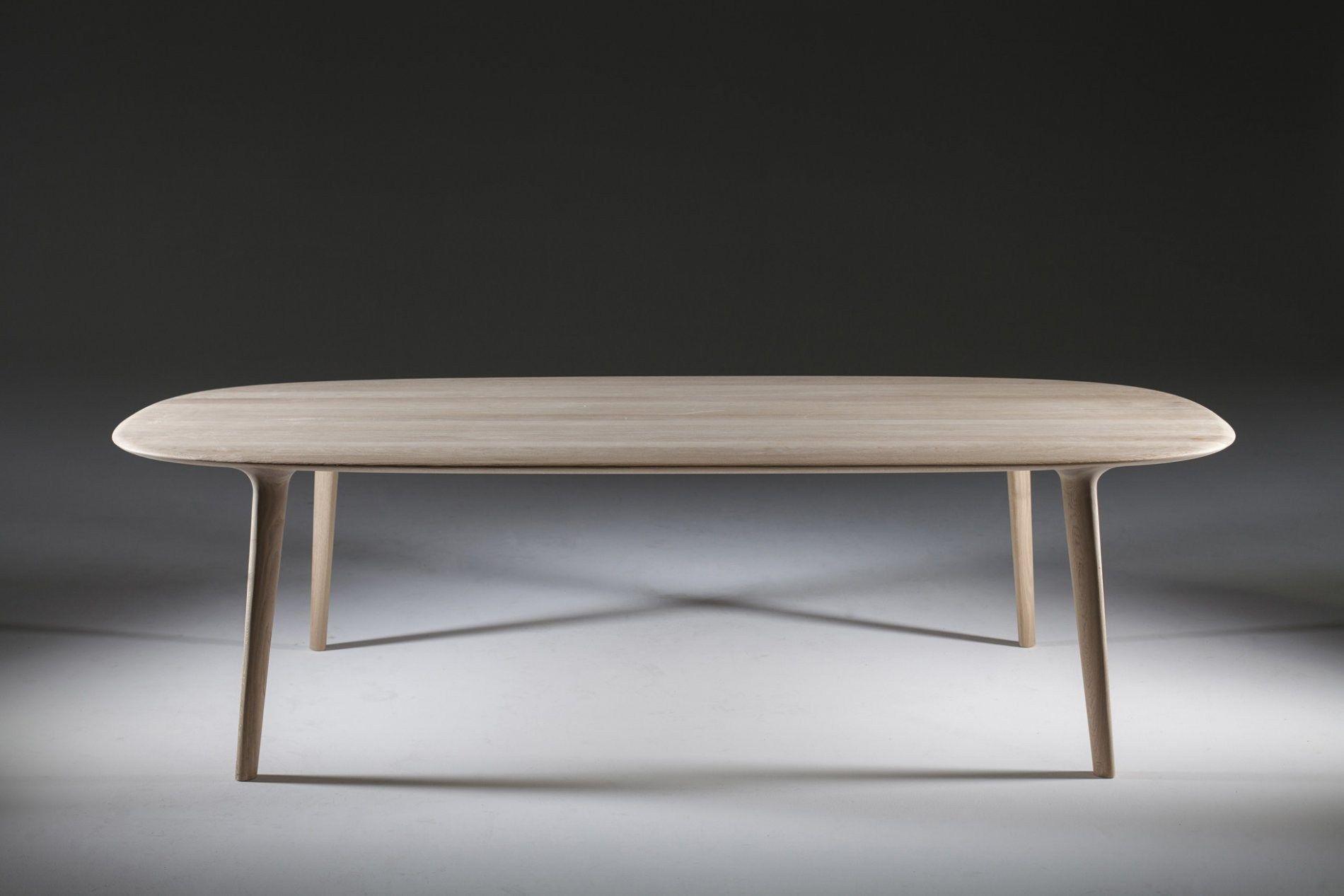 Table ovale en bois luc collection luc by artisan design for Table ovale en bois