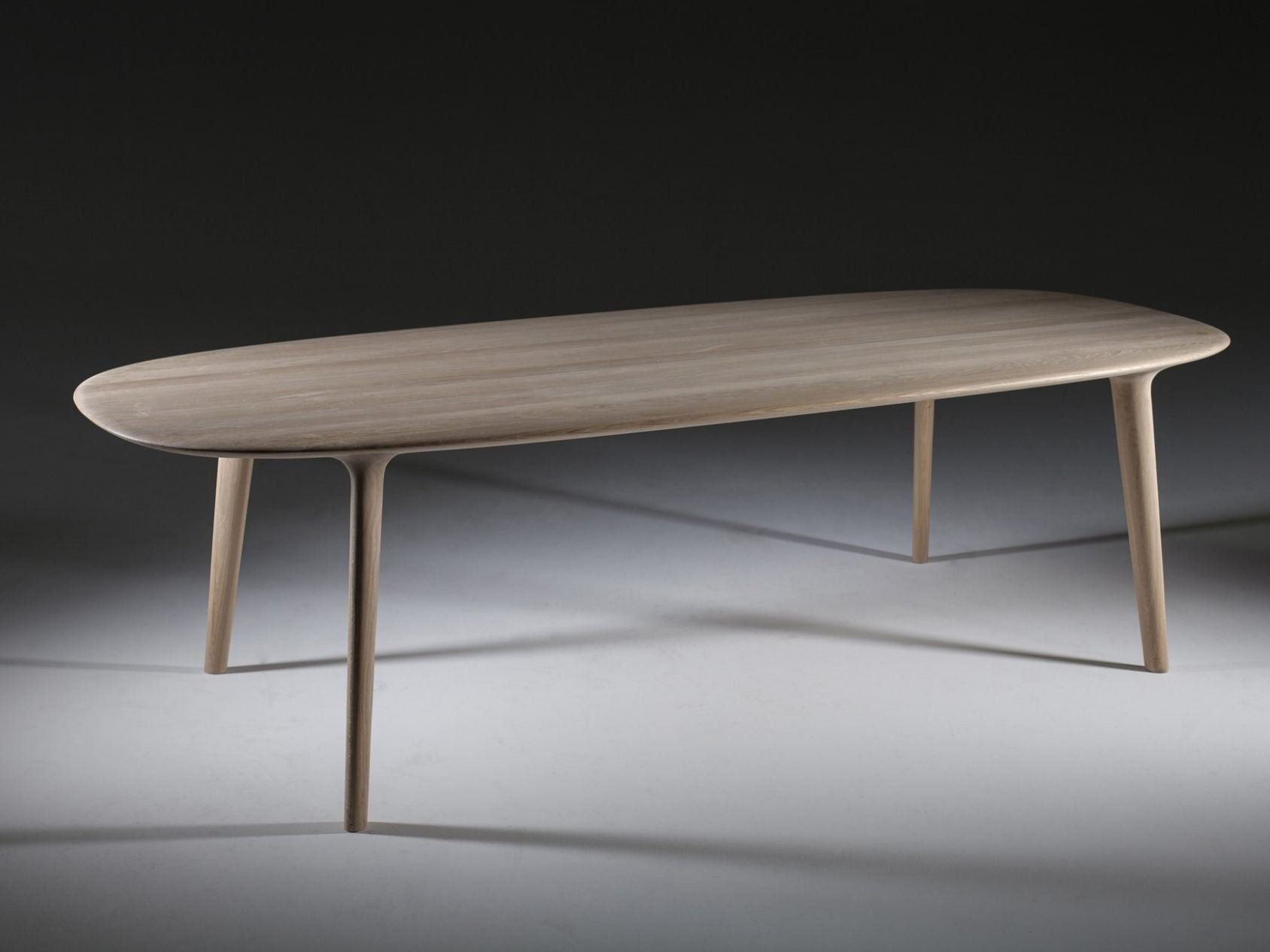 Table Ovale En Bois - TABLE OVALE EN BOIS LUC COLLECTION LUC BY ARTISAN DESIGN RUDJER NOVAK MIKULIC, MARIJA RUZIC