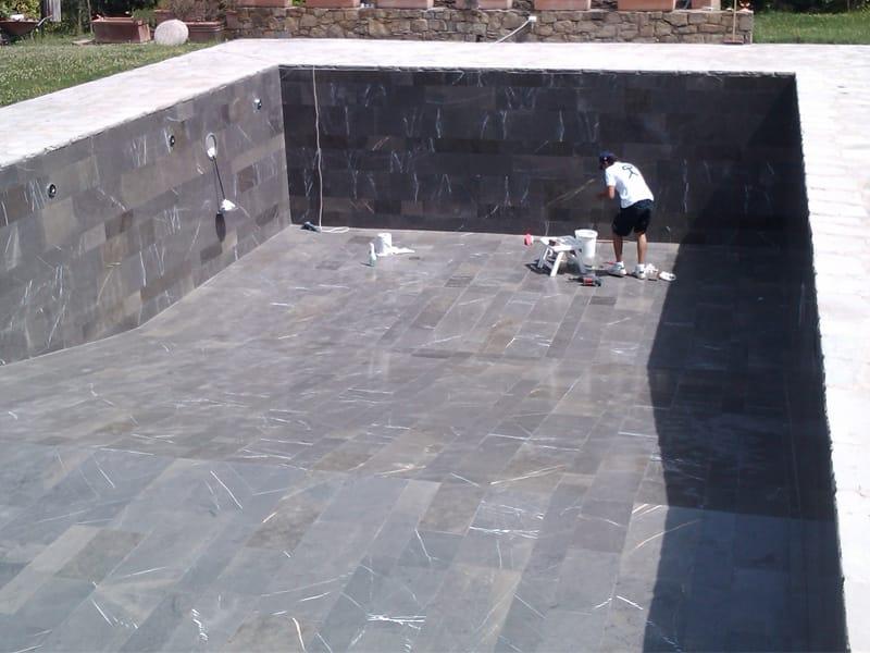 Piscine enterr e by indalo piscine for Ciment pour piscine