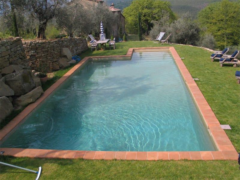 Piscina de cimento by indalo piscine for Piscinas enterradas