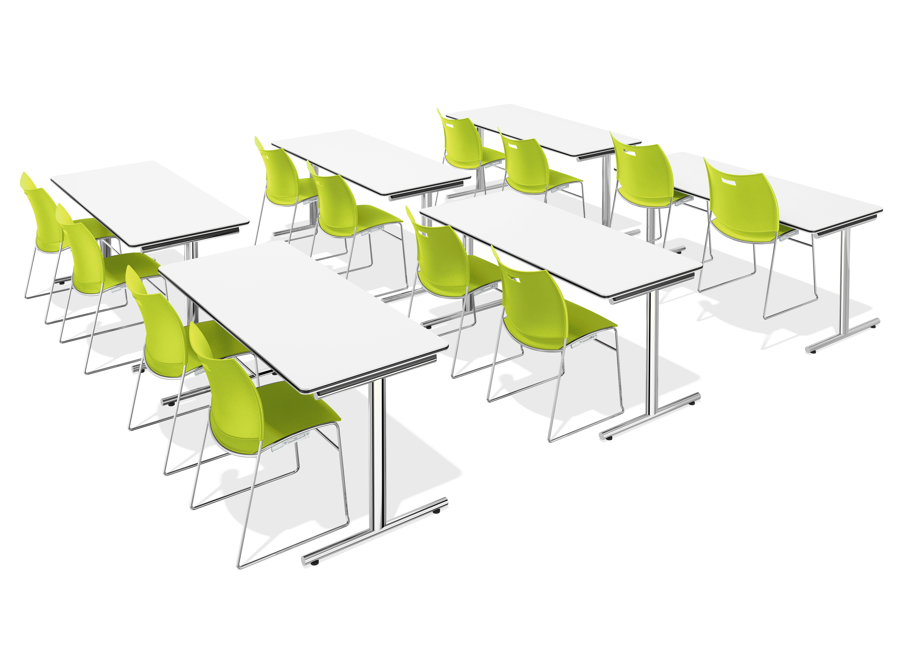 Carver plastic chair by casala design sigurd rothe - Table pvc pliante ...