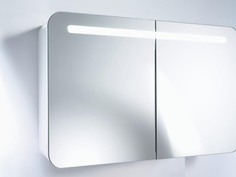 Puravida specchio bagno by duravit design phoenix design - Armadietto specchio bagno ...