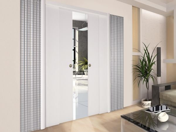 contre ch ssis pour portes coulissantes parall les. Black Bedroom Furniture Sets. Home Design Ideas