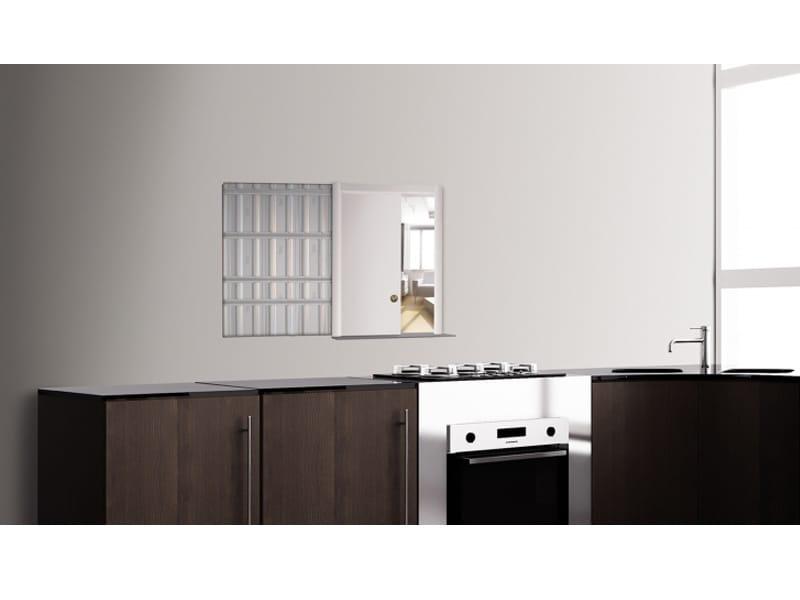 contre ch ssis pour ouverture interm diaire entre 2 pi ces contatto by scrigno. Black Bedroom Furniture Sets. Home Design Ideas