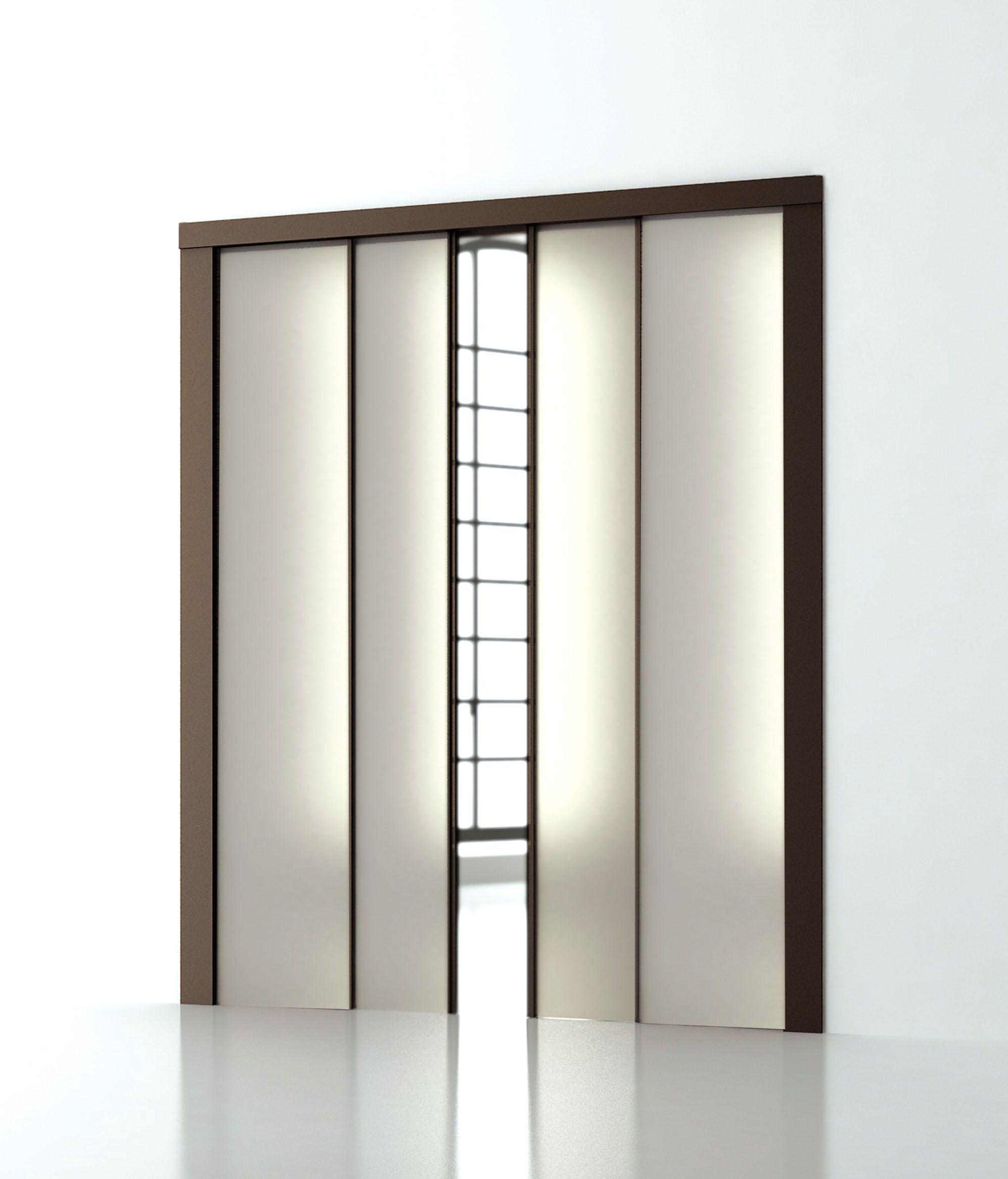 contre ch ssis pour porte t lescopique surprise by scrigno. Black Bedroom Furniture Sets. Home Design Ideas