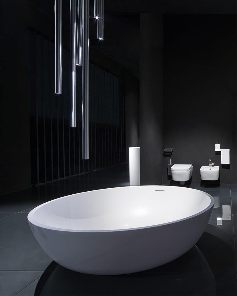 Circle vasca da bagno by rifra - Vasca da bagno rotonda ...