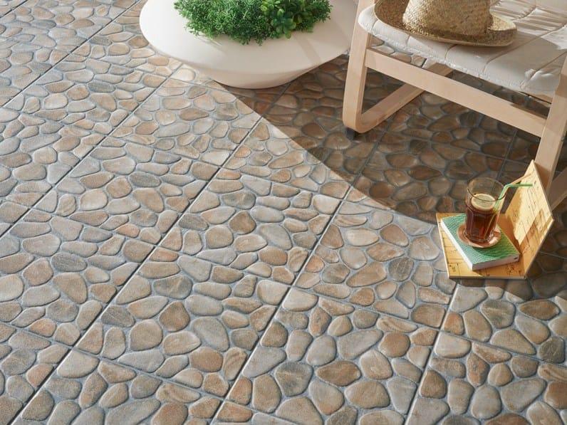 Pavimento para exteriores com efeito de pedra areosa - Pavimento para exterior ...