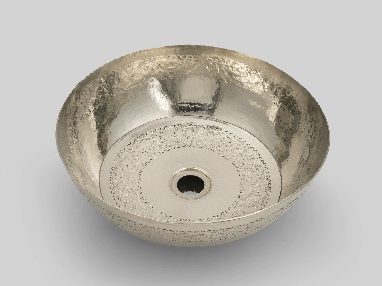 Silver 1 by bleu provence for Badschrank fa r aufsatzwaschbecken