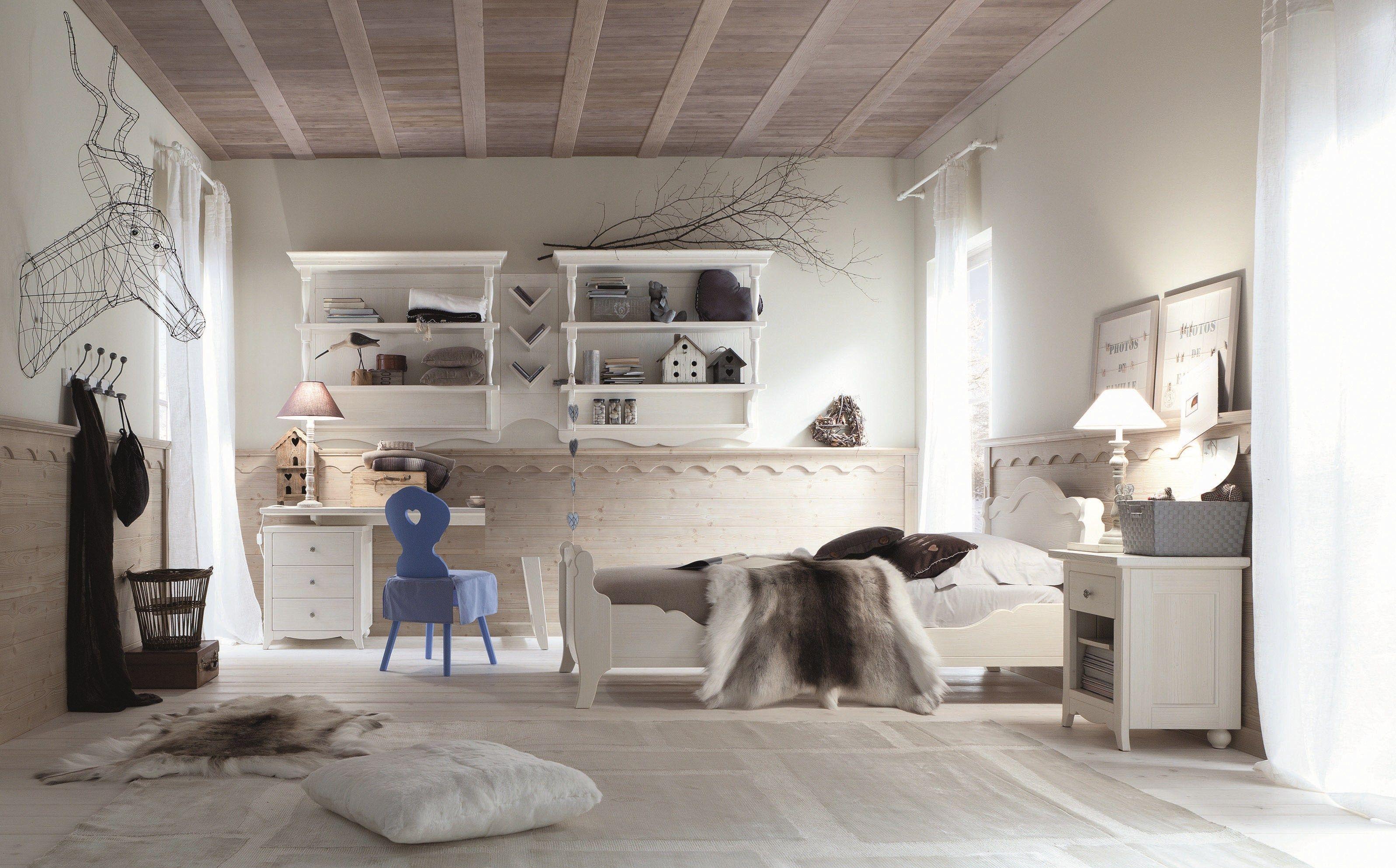 Tabi libreria a parete by scandola mobili for Piccole librerie in legno