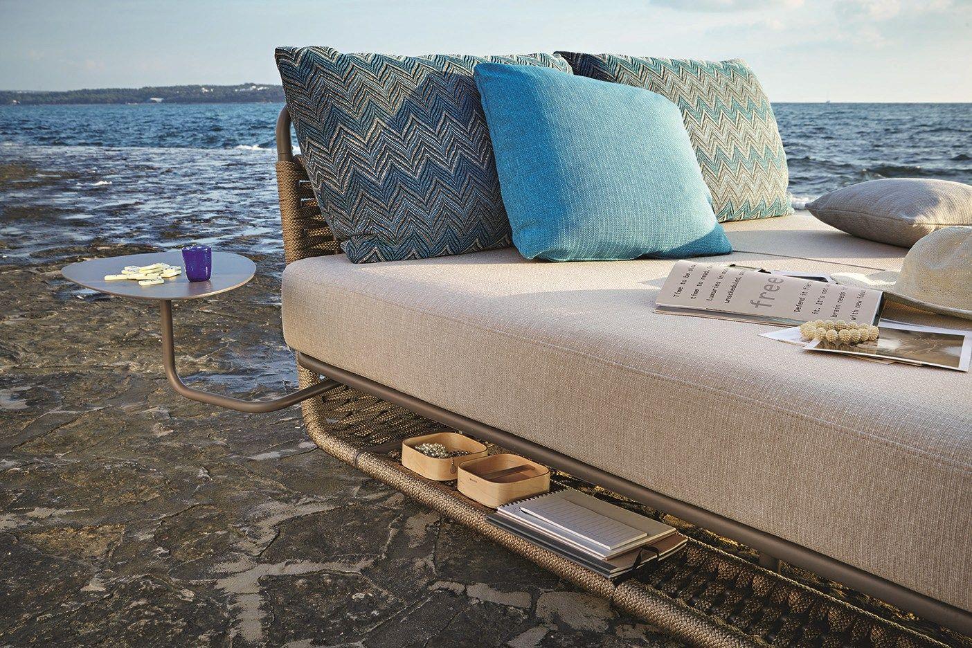 Portofino garden bed by roberti rattan design santiago - Mobilier jardin design roberti rattan ...