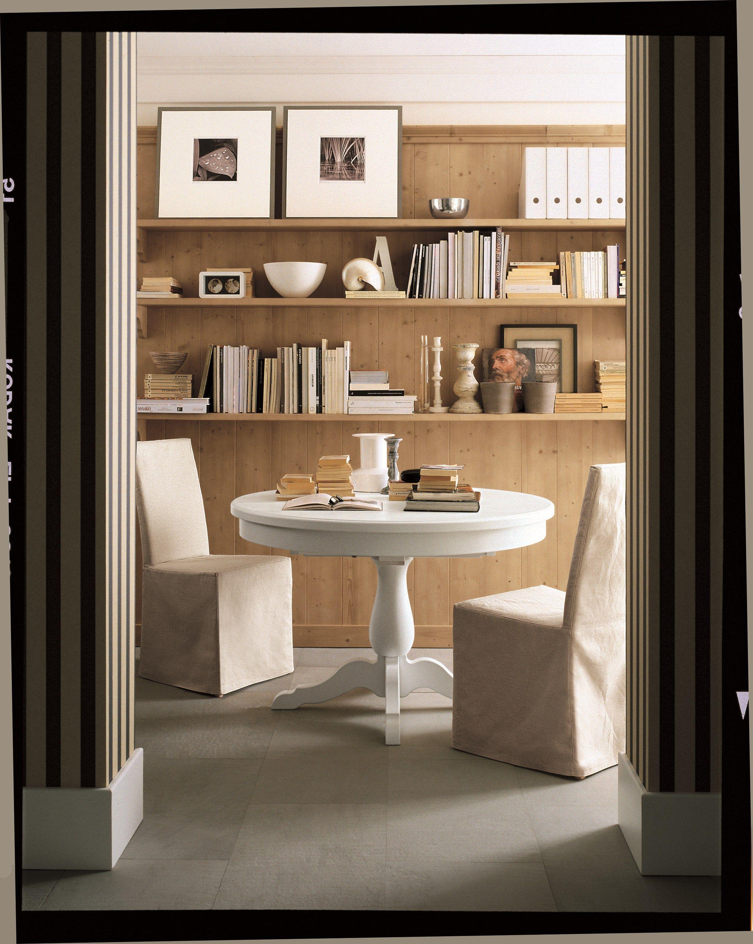 Tavoli Tondi Allungabili: Un'ode Alla Praticità: Il Tavolo Rotondo  #8F663C 2526 3166 Tavoli Da Pranzo Allungabili Bontempi