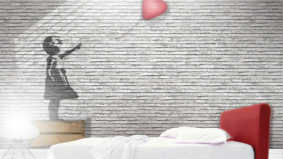 Brick Effect Vinyl Wallpaper Guerillart By Glamora