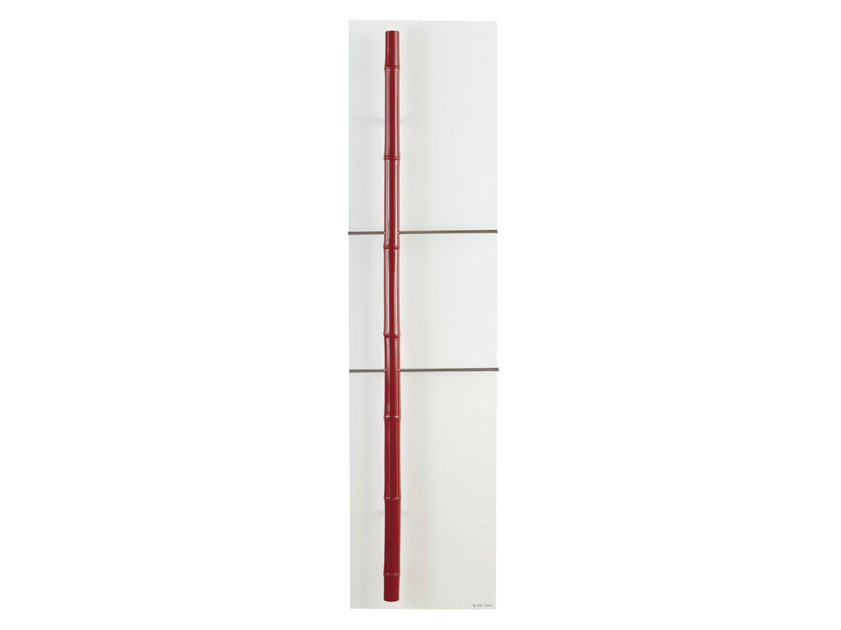 S che serviettes panneau vertical en olycale bambou for Radiateur contemporain