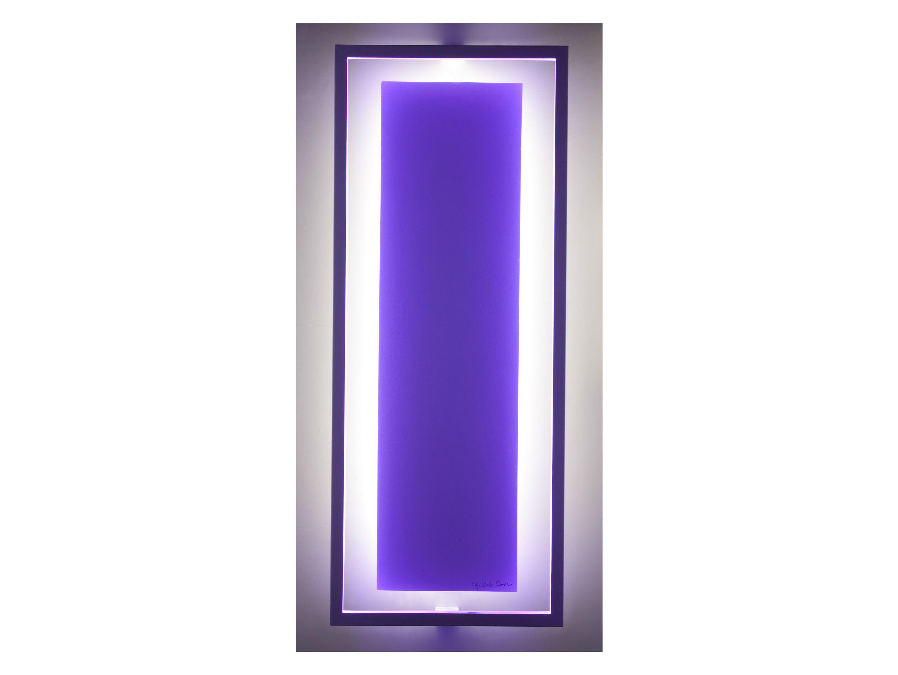 Applique led pour clairage indirect uni lt by cinier for Eclairage contemporain design