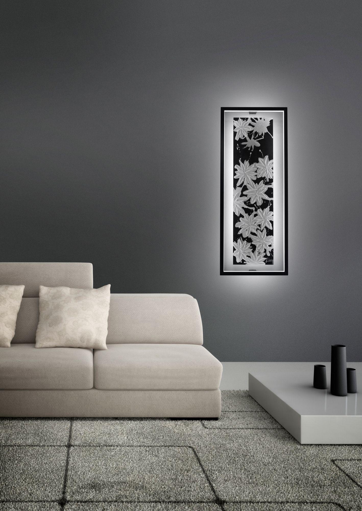 Applique led pour clairage indirect hawaii lt by cinier for Eclairage contemporain design
