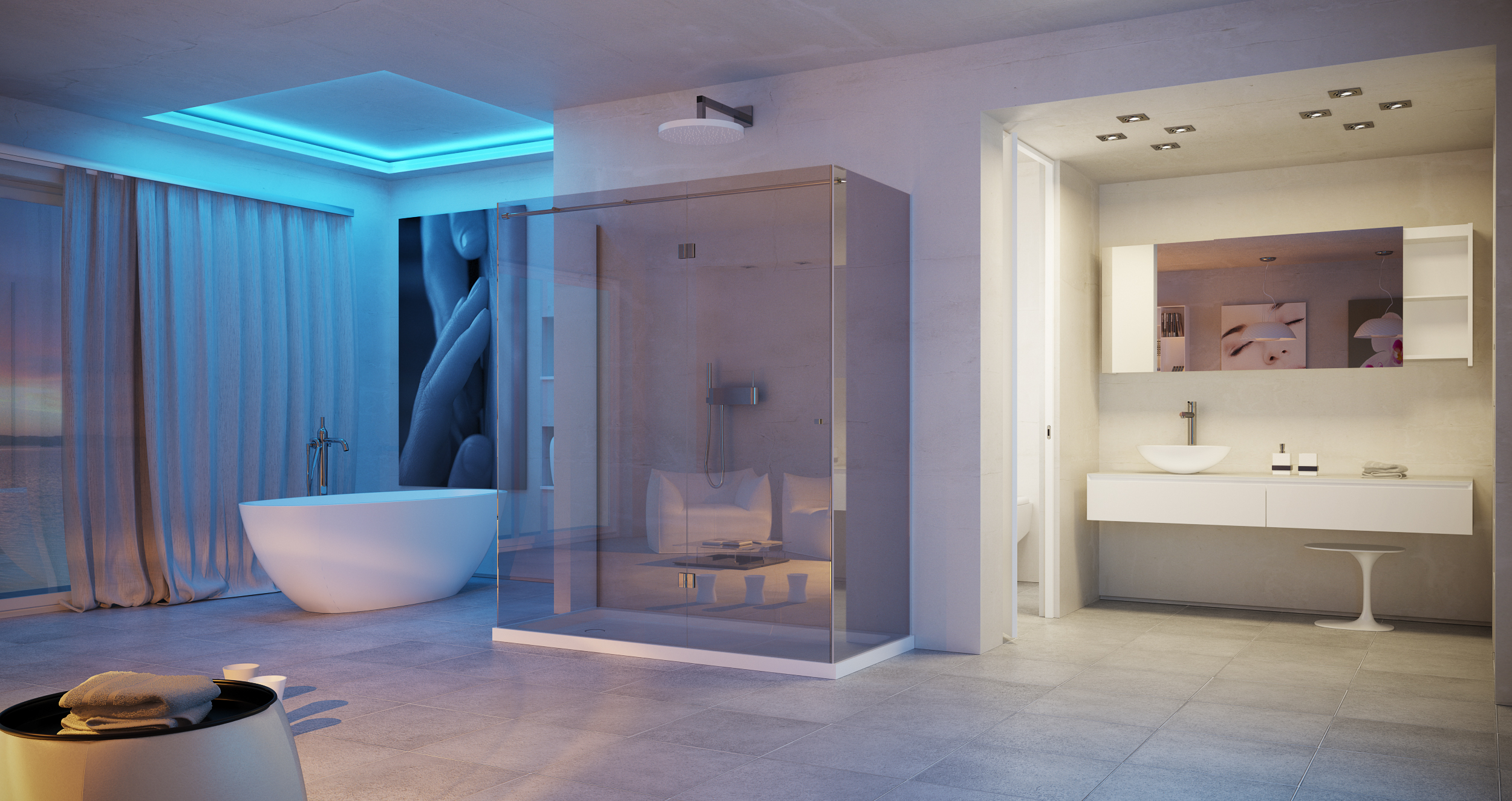 Ovale badewanne turquoise tub by dimasi bathroom by archiplast for Badewannen hersteller liste