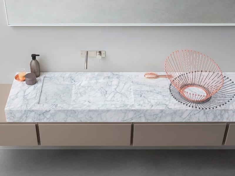 d taglio lavabo en marbre de carrara by rexa design design. Black Bedroom Furniture Sets. Home Design Ideas