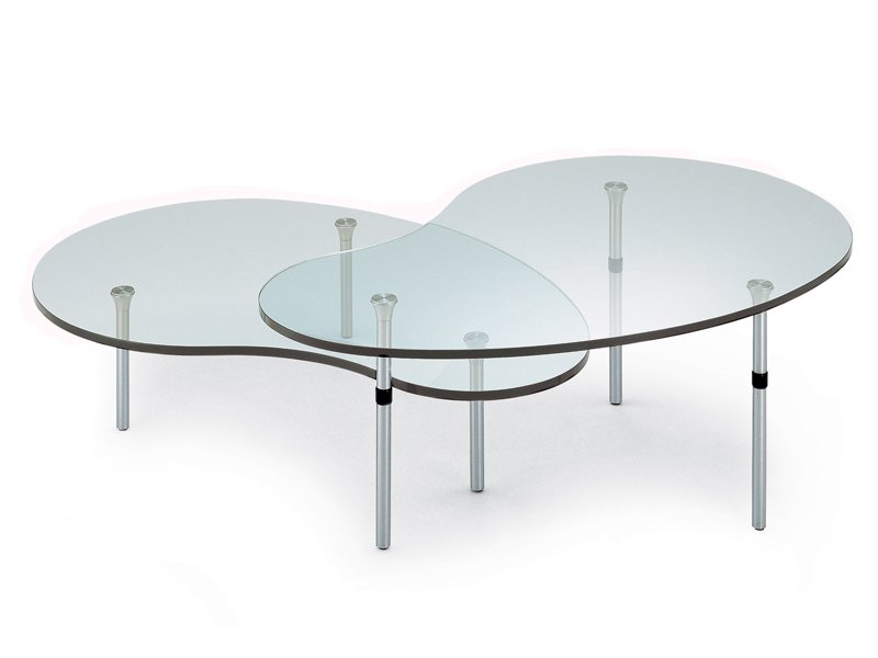 Crystal Coffee Table Ambo By Zanotta Design Enzo Mari