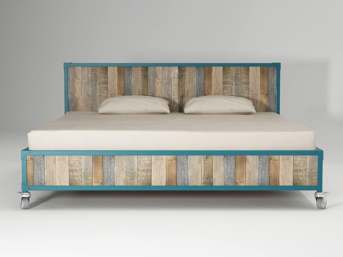 Cama king size de madeira com rodízios AK  14 Cama king size  #387682 1188x891