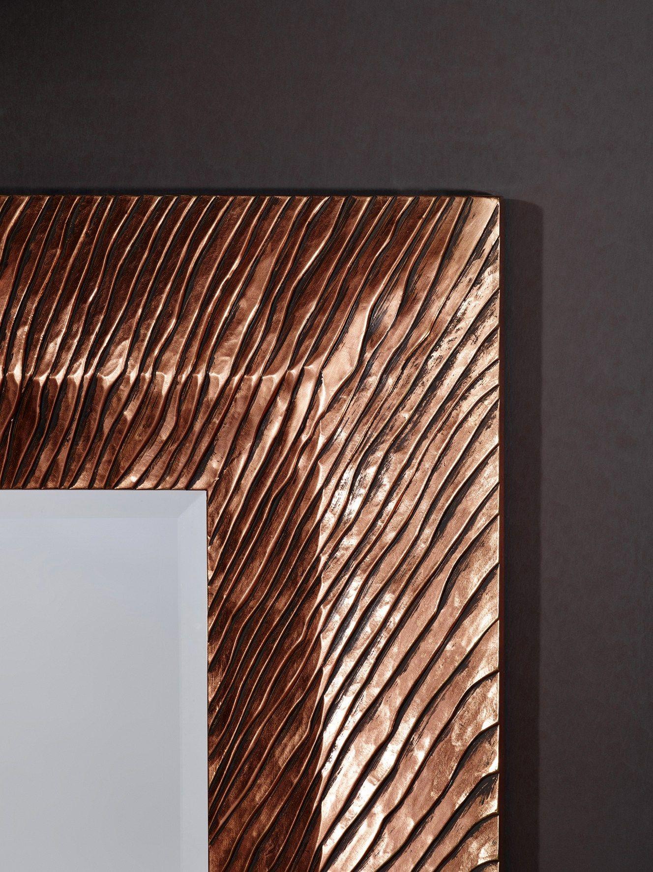 Groove miroir art d co by deknudt mirrors for Miroirs deco