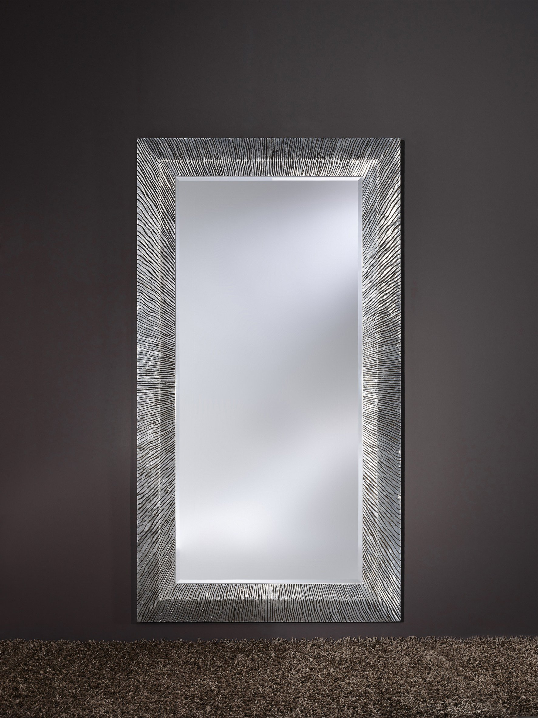 Groove miroir art d co by deknudt mirrors for Deco 3 miroirs