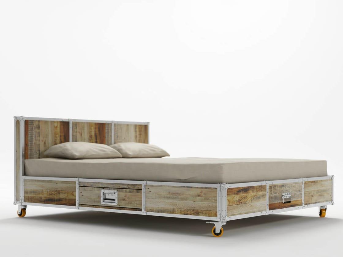 Roadie letto queen size by karpenter design hugues revuelta - Dimensioni letto queen size ...
